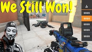 Getting DDoS'd in Ranked in Rainbow Six Siege
