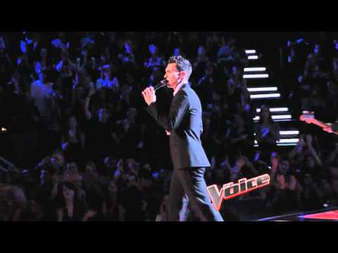 Maroon 5 Featuring Christina Aguilera Moves Like Jagger The Voice Performance Live