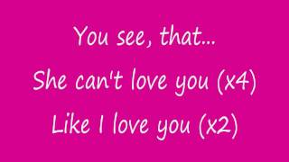 Danity Kane-She Can't Love You (With Lyrics)