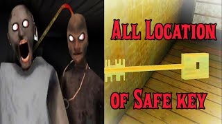 Safe Key granny location in granny chapter 2 ( How to find safe key in granny chapter 2)