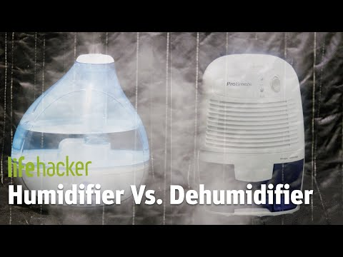 We Put A Humidifier And Dehumidifier In The Same Room And Made Them Fight