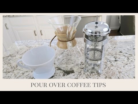 How To Make The Perfect Cup of Coffee At Home | Pour Over Coffee Techniques PLUS Huge Giveaway
