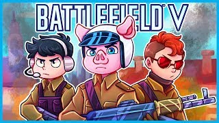 THEY ADDED *BUILDING* to Battlefield V! (NOT CLICKBAIT) (Battlefield V Open Beta Funny Moments)