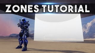 Zones/Volumes Tutorial! Create Rain/Snow Or The Water Effect ANYWHERE!! (Halo 5 Guardians Tutorial)