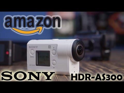 Sony HDR AS300 - моя лучшая покупка с Amazon. Unboxing экшн-камеры