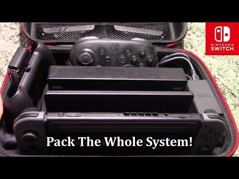 Nintendo Switch VORI Deluxe Travel Case Review!