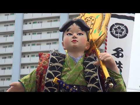 千代流 子供山笠 2018/07/07 博多祇園山笠