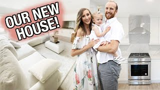 FIRST LOOK AT OUR NEW HOUSE: Moving day! UNPACK with me!