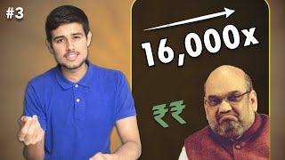 Amit Shah's son, Adani & Ambani | Ep 3 The Dhruv Rathee Show