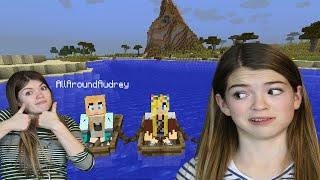 Audrey and Jordan play Minecraft [1]