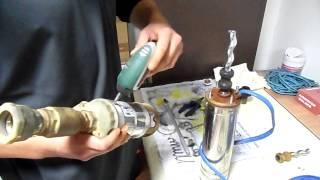 AT  4 Zoll Tiefbrunnenpumpe 500W screw Rotor Stator wechsel
