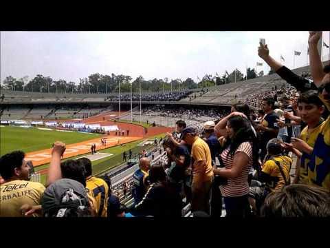 """""""Pumas 4 vs Querétaro 1 ... 11 Septiembre 2016 ... PORRA PLUS ... ¡¡¡ GOOOL !!! ..."""" Barra: La Plus • Club: Pumas"""
