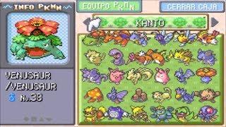 Pokemon Rojo Fuego My Boy Android/cuenta Al 100% (como Ponerla Y Como Intercambiar Pokemons)