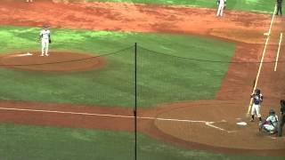 2013/10/28社会人野球日本選手権新日鉄住金かずさマジック対ヤマハ5回裏