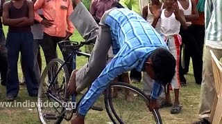 Cycle Circus in Bharatpur, Rajasthan