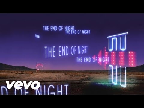End of Night Lyric Video