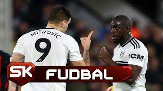 Svađa Mitrovića i Kamare Oko Izvođenja Penala | Fulam - Hadersfild | SPORT KLUB Fudbal