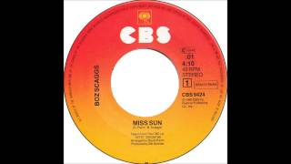 Boz Scaggs - Miss Sun (Billboard Top 100 of 1981)