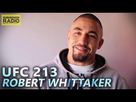 "UFC 213: Robert Whittaker says Yoel Romero ""Will Fall Like Everyone Else"""