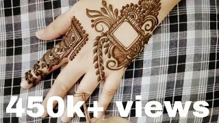 Video Arabic Henna Mehndi Tattoo Design 2016 For Eid Kawachauth