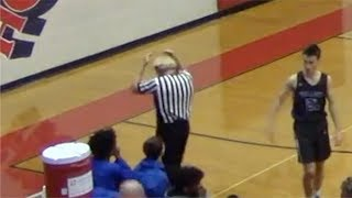 Referee loses toupee in H.S. basketball game