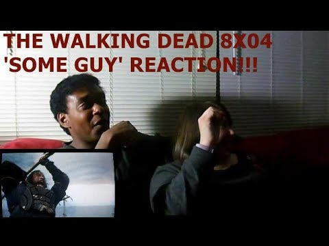 THE WALKING DEAD 8X04 'SOME GUY' - REACTION!!!!!