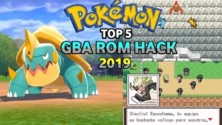 Top 5 Pokemon GBA Rom Hacks 2019!