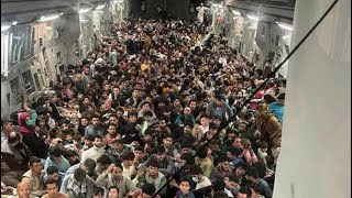 Nawet 1122 osoby uciekły na pokładzie jednego samolotu!
