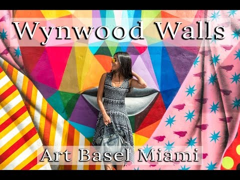 AMAZING STREET ART IN MIAMI FLORIDA