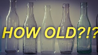 ANTIQUE PEPSI BOTTLE AGE | HOW TO TELL THE AGE OF PEPSI COLA BOTTLES