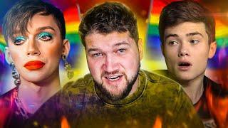 ВОЛОДЯ xxl 30 минут дико ненавидит геев (интервью с Петровым)