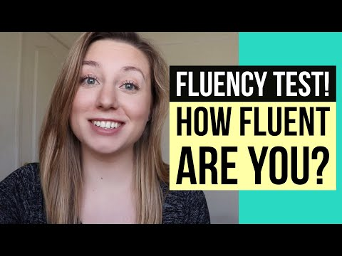 YOU KNOW YOU'RE FLUENT IN ENGLISH WHEN... (fluency quiz! test your English!)