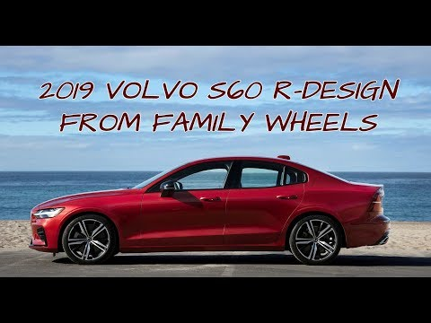 2019 Volvo S60 R-Design Review from Family Wheels