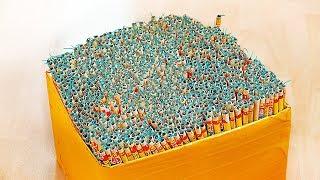 ЧТО БУДЕТ ЕСЛИ ПОДЖЕЧЬ 1000 РИМСКИХ СВЕЧЕЙ!