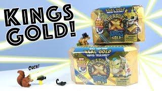 Treasure X Kings Gold New Magic Rock Dig & Opening Moose Toys