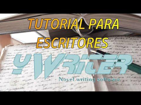#Tutorial para #escritores YWriter #YoMeQueDoEnCasa