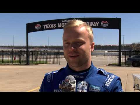 IndyCar Tire Test at Texas Motor Speedway