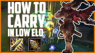HOW TO CARRY WITH YASUO IN LOW ELO   MID LANE YASUO GUIDE