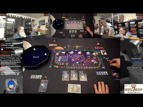 Cosmic Run Regeneration Rules Overview - Tabletop Board Game