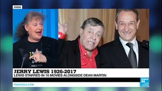 Why did the French love Jerry Lewis so much?