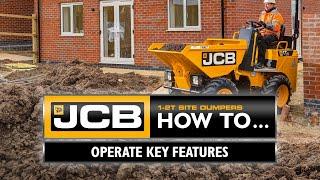 How to Operate a JCB 1-Tonne 1T-2 Site Dumper
