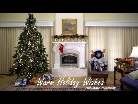 Warm Holiday Wishes from Utah State University