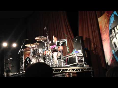 Aaron Spears @ London Drum Show 2012 - Deadmau5 (Right This Second)