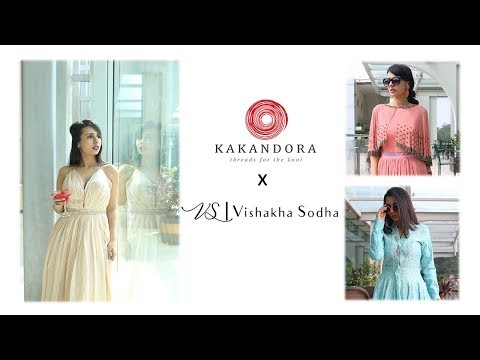 My Fashion Diaries | Kakandora Visit | V-Log teaser | Styling Myself Uniquely