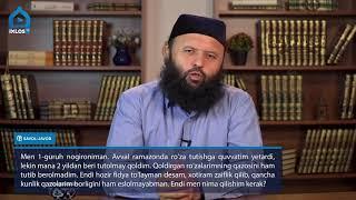 Фидя тулаш хакида Устоз Шайх Содик Самаркандий