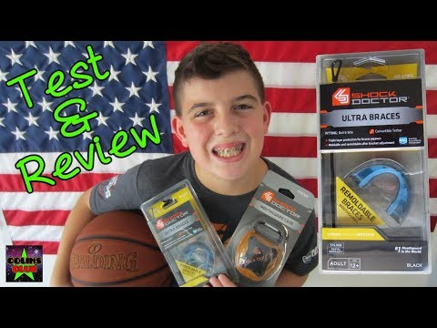BEST SPORTS Mouth Guard for Braces! SHOCK DOCTOR - We Open Apply Test Review