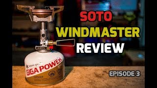 Ultralight Backpacking Stove Shootout: Soto Windmaster - Worlds Lightest Stove