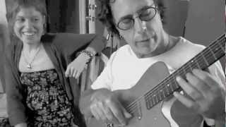 Jess Talks Guitars with Billy Masters for Recording Behind A Veil
