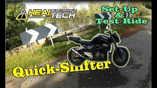 Healtech Quickshifter  Setup And Test Ride