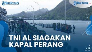 Kapal Perang China Masuk Wilayah Indonesia,TNI AL Siagakan 4 Kapal Perang RI di Natuna